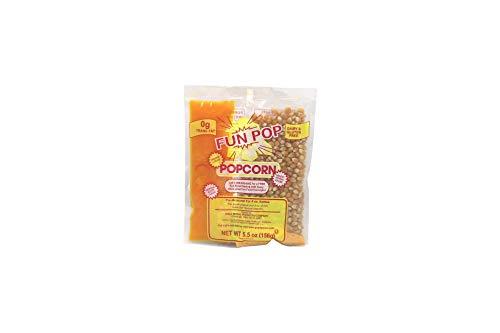 Beach City Wholesalers Mega-Pop Popcorn Packet w/coconut oil 5.5 oz for 4 oz kettle (36 count)