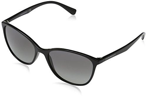 Emporio Armani 501711 Occhiali da Sole, Nero (Black), 56 Donna