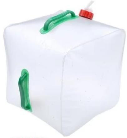 ポリタンク 水 ポータブル 給水 タンク折り畳み式 キャンプ 災害 対策 に 20L