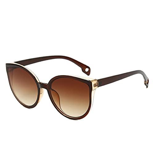 Gafas de Sol Sunglasses Gafas De Sol De Ojo De Gato para Mujer, Gafas De Sol De Gran Tamaño con Protección UV, Gafas De Sol para Mujer, Gafas De Sol C2
