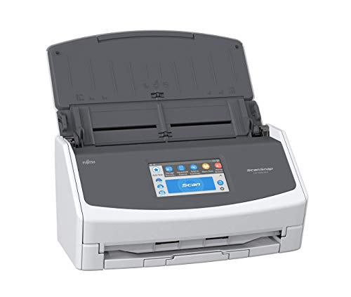 Fujitsu ScanSnap iX1500 Color Duplex Document Scanner with Touch Screen for Mac and PC (White Model, 2020 Release) (Renewed)