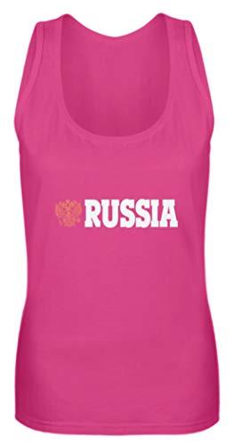 generisch Russia Russland - Frauen Tanktop -L-Pinky