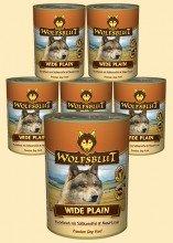 Wolfsblut - Wide Plain 6 x 800g mit Mind. 90% Pferdefleisch