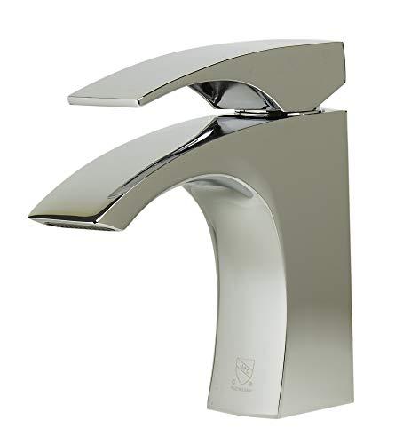 Alfi AB1586-PC Grifo de baño con una sola palanca de cromo pulido, H 6 1/8