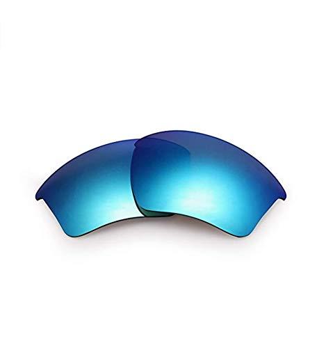 AOKELIS Polarisierte Ersatzgläser für Oakley Half Jacket 2.0 (Blau)