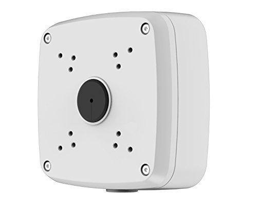 Dahua pfa121caja de conexión impermeable para cámara tipo hac-hdw1100/1200/2120/2220m, hfw3220ez, color blanco