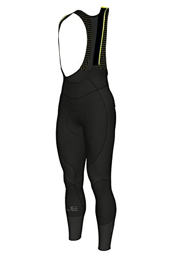 Alé Clima Protection 2.0 BE-Hot Culote, Hombre, Negro, 191/195