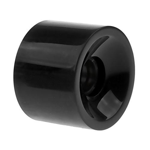 Baoblaze Skateboard Rollen/Profi Longboard Rollen Wheels (70 mm x 51 mm) - Schwarz