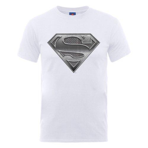 DC Comics Dc Originals Official Superman Shield T-Shirt Uomo