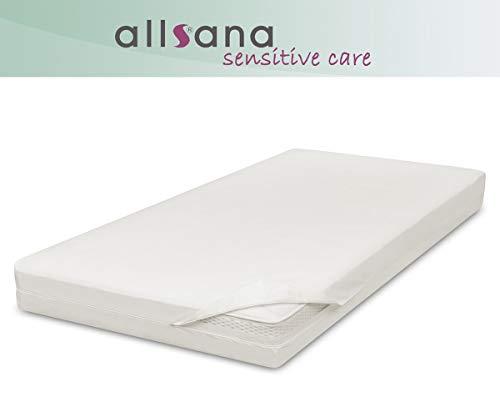 allsana Allergiker Matratzenbezug 140x200x20 cm Allergie Bettwäsche Anti Milben Encasing Milbenschutz für Hausstauballergiker