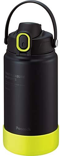 ピーコック ステンレスボトル 1.5L ブラックイエローPeacock AJG-R150-BY