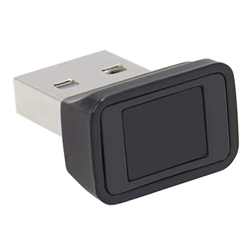 FeinTech FPS00200 USB Fingerabdruck-Sensor für Windows Hello Fingerprint-Reader Scanner schwarz