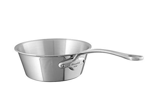 Mauviel1830 - M'Cook 522320 - Sauteuse évasée inox - 20 cm