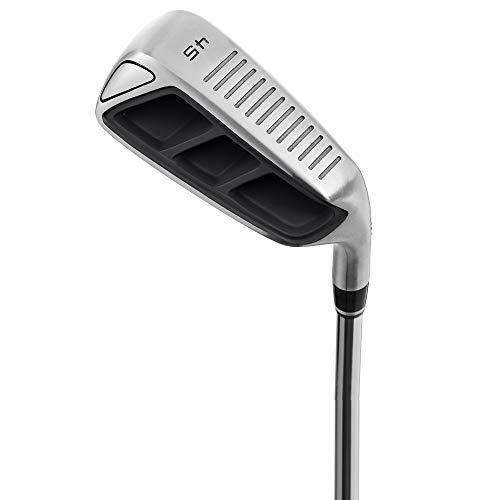 MAZEL Herren Golf Chipper Club, Wedge 35,45,55,60 Grad, Rechtshänder, 35 Zoll (schwarz 45D)