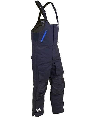 Clam 12746 Rise Float Bib Black/Blue Zips