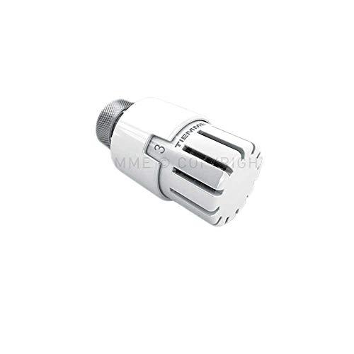 Tiemme - Cabezal termostático universal blanco
