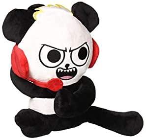 Ryan's World Peluche de juguete de dibujos animados Ryan Panda muñecos de peluche 18 cm decoración de la habitación regalo muñeco de peluche regalo creativo
