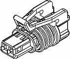 Philadelphia Mall Automotive Connectors 2P FM BLK CONN ASSY 15 SERIES Max 66% OFF 10 AMPS 150