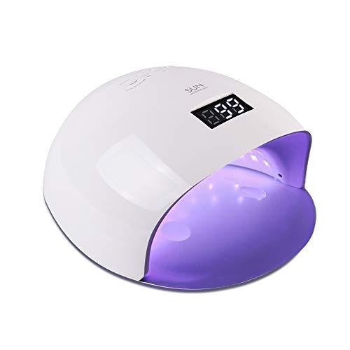 UV LED Nail Lamp, Vanshi 48W Nail Dryer Light with 24 LEDs,...