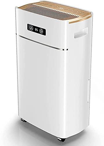 Ft Deumidificatore per casa e cantine con aria condizionata tubo di scarico con scarico automatico o manuale capacità serbatoio acqua 5L