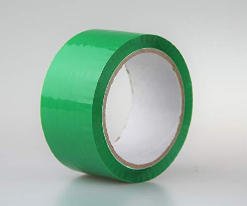 3 rollen groene plakband pakketband plakfolie verpakkingstape 48 mm x 60 y