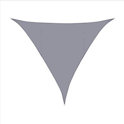 SACYSAC Shade Sails, Triangle Twnings, Adecuado para Velas de Sombra UV al Aire Libre en Patios,3.6 * 3.6 * 3.6M