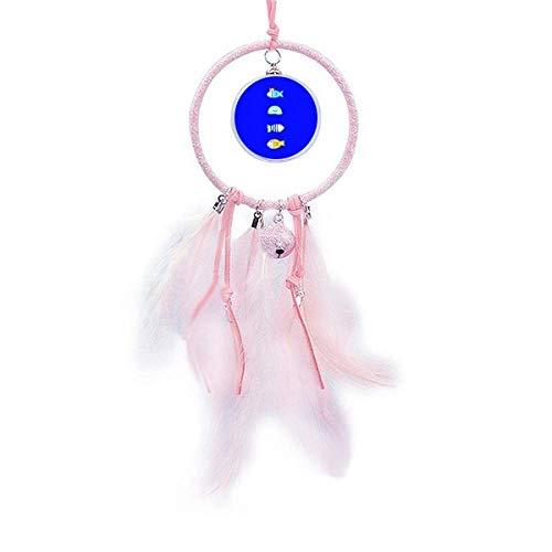 Medusas de peces oceánicos Art Deco regalo de moda atrapasueños pequeña campana decoración dormitorio