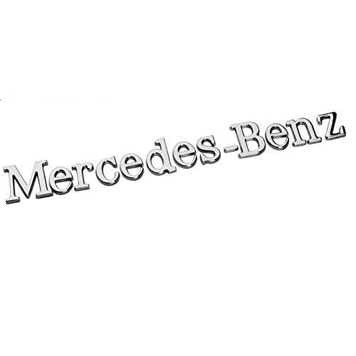 Wallner 3D Auto Brief Aufkleber Aufkleber Kopf Auto Side Fender Kofferraum Emblem Abzeichen Aufkleber Aufkleber Auto Schwanz für Mercedes Benz
