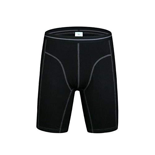 2 stuks boxershorts voor heren, lange boxershorts van katoen en mannen, in cueca boxershorts
