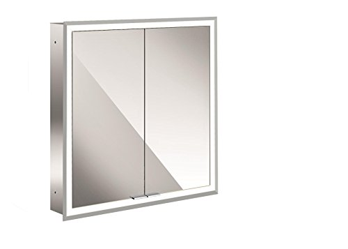 Emco asis LED-Spiegelschrank Prime, up 600 mm, 2-türig, Rückwand Spiegel