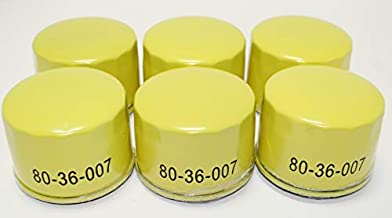6 Pack 80-36-007 Oil Filters - Compatible with: Briggs & Stratton 695396, 492932, 492932S, 696854, 842921