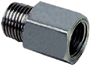 Parker 1867 10 11 Adaptor, 316L Stainless Steel, BSPT and NPT, Male and Female, R1/8 and 1/8