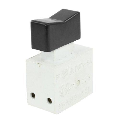 DealMux CA 220V / 380 5A taladro eléctrico herramienta No hay bloqueo DPST gatillo DKP1-5A