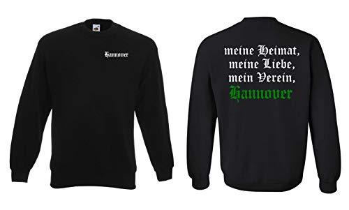 Hannover Herren Sweatshirt Meine Heimat, Mein Verein