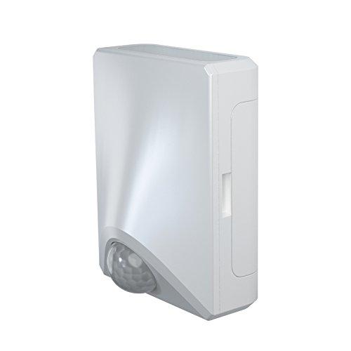 Osram Door LED UpdownBatteriebetriebene Leuchte, für Außenanwendungen, Bewegungssensor, Tag-Nacht-Sensor, Kaltweiß, 41, 0 mm x 70, 0 mm x 90, 0 mm