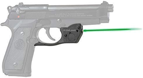 ArmaLaser Designed to fit TR20G Beretta 92 96 M9 92FS 96FS Green Laser Sight Grip Activation product image