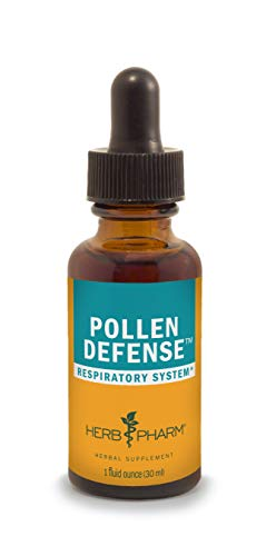 Herb Pharm Pollen Defense Liquid Herbal Formula for Respiratory System Support - 1 Ounce