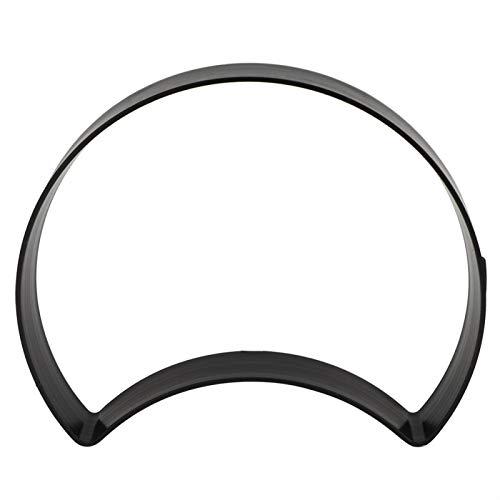 Alvinlite Molde de Piedra de acera en Forma de Media Luna, baldosa de Cemento, Molde de ladrillo de Color, Molde de plástico para Piso de Bricolaje (Mold-44)