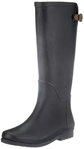 VERO MODA Damen VMELAINE Boot Stiefelette, Schwarz, 37 EU
