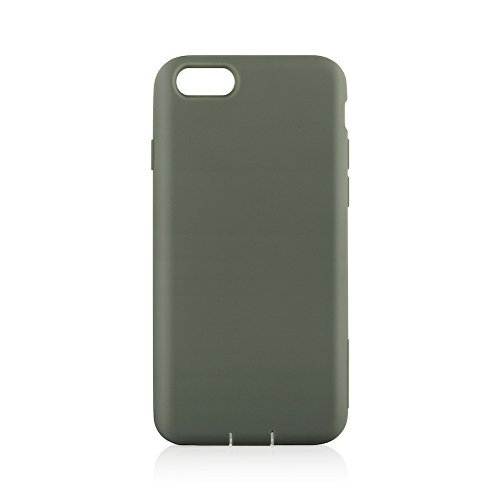 Simplism iPhone7ケース /6s/6 [Cushion] 衝撃吸収シリコンケース カーキ TR-CSIP164-KK