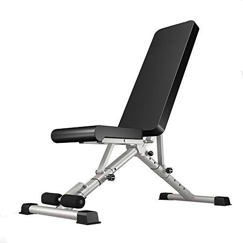 HZZ Kleine Hantelbank, Bankdrücke, Bankdrücke, Brustpresse, Gewichtheben, Workout, Multifunktions-Ausrüstung