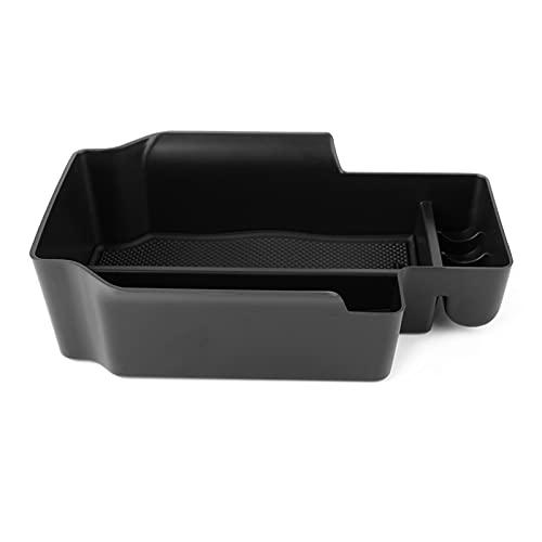 Wishful Cajas de almacenamiento Cajas de almacenamiento Caja de almacenamiento Organizador de la consola de la bandeja de bandeja de contenedor para Chevrolet Colorado LT Z71 ZR2 ajuste para GMC Canyo