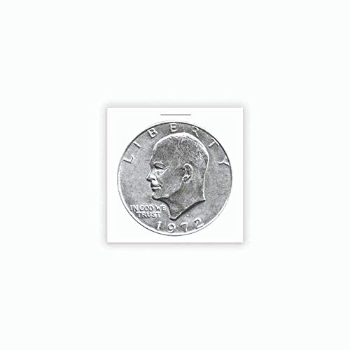 『100 Ct. Premium BCW Cardboard Coin Holders Flips For Pre-1979 Silver Dollars;100 Pack of 2x2 Pre-1978 Large Dollar Coin Cardboard Holder』のトップ画像
