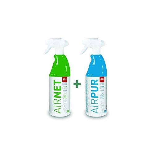 REPORSHOP - Kit Airpur Airnet Limpiador Higienizante Aire Acondicionado