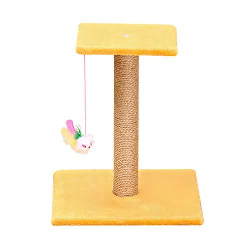 Newgreeny Katze Klettergerüst Kleine Katze Kratzspalte Plüsch EIN Biss Spielzeug...