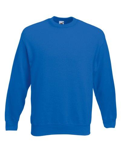 Fruit of the Loom klassisches Sweatshirt SS200 Gr. XXL, königsblau