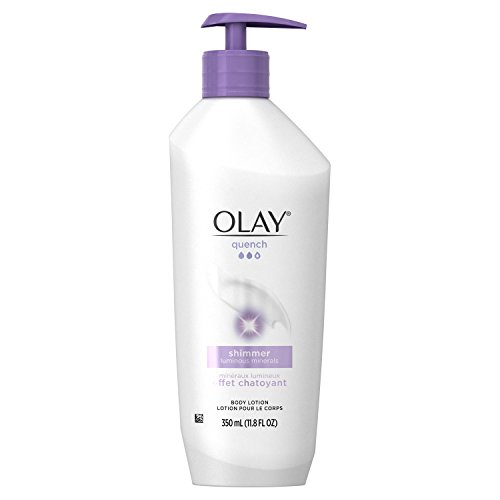 Olay Quench Plus Shimmer Body Lotion, 11.8 Fluid Ounce