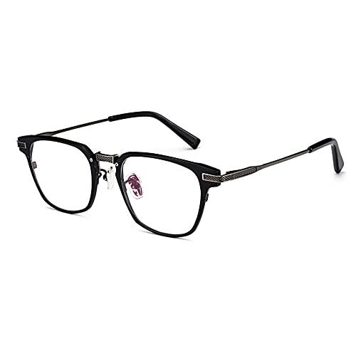 CXNEYE Gafas De Lectura Fotocromáticas Ultraligeras Hombres Mujer Gafas De Sol Multifocales Progresivas Inteligentes Gafas De Montura Completa De Metal De Titanio Puro