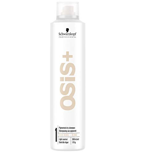 Schwarzkopf Professional Osis+ Long Texture Boho Rebel Blond Pigmented Dry Shampoo Light Control, 300 ml