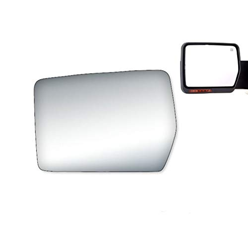 WLLW Side Mirror Replacement Glass fit for 2004 2005 2006 2007 2008 Ford F150...